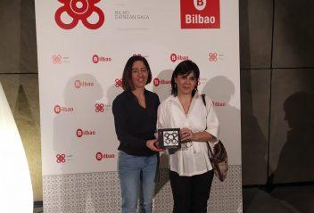 Physio SET app en gala Bilbao emprende